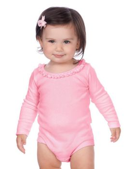 'Kavio I1C0589 Infant Sunflower Long Sleeve Onesie'