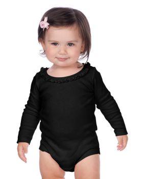 Kavio I1C0589 Infant Sunflower Long Sleeve Onesie