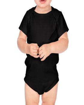 Kavio IIC0586 Infant Interlock Lap Shoulder Short Sleeve Bodysuit