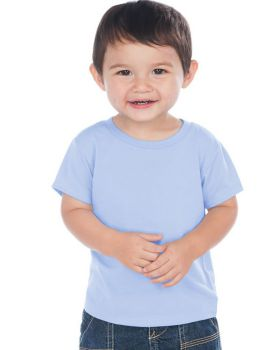 Kavio IJP0493 Infant Crew Neck Short Sleeve T Jersey Cvc