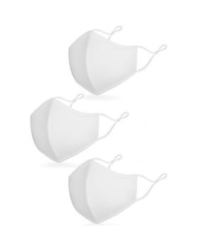 Kavio LAM2023 Unisex Adult 3-ply Adjustable Loop  Breathable Fabric Face ...