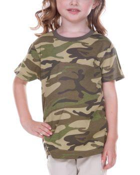 Kavio TJP0616 Infant Camouflage Crew Neck Short Sleeve Tee