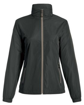 Landway 7542 Women's Adjustable Waist Mesh Lined Windbreaker Jacket