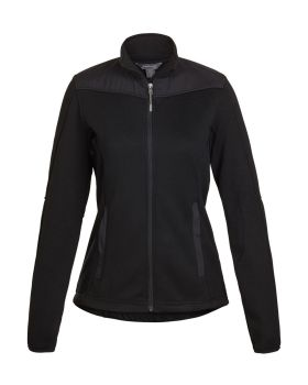 Landway 9887 Women's Wind Resistant Sweater Fleece Jacket