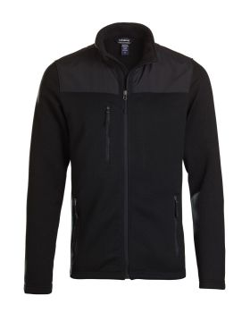 Landway 9888 Men's Wind Resistant Sweater Fleece Jacket