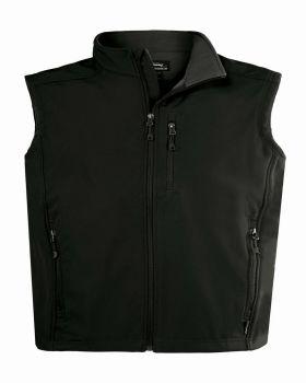 Landway 9905 Men's Water Resistant Bonded Soft Shell Vest