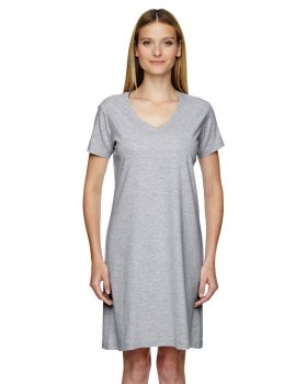 LAT 3522 Ladies' V-Neck Fine Jersey Coverup