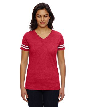 LAT 3537 Ladies' Football Fine Jersey T-Shirt