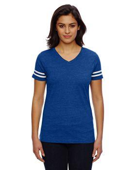 'LAT 3537 Ladies' Football Fine Jersey T-Shirt'