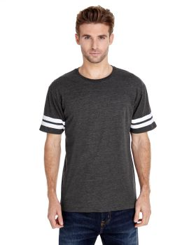 LAT 6937 Adult Short Sleeve Football Fine Jersey T-Shirt