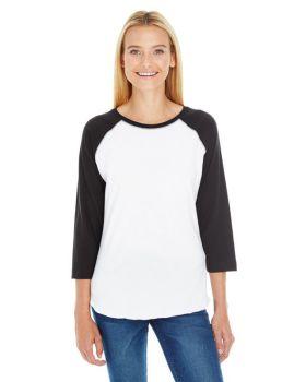 LAT LA3530 Ladies' Baseball Fine Jersey T-Shirt
