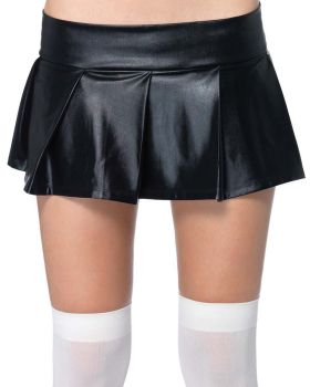 Leg avenue UA2658 Skirt Pleated Wet Look Adult
