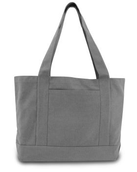 Liberty Bags 8870 Pigment Dyed Premium Canvas Gusseted Tote
