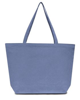 Liberty Bags LB8507 Seaside Cotton Pigment-Dyed Large Tote
