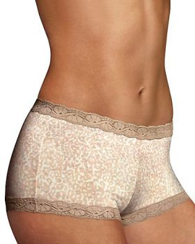 'Maidenform 40760 Maidenform Microfiber and Lace Boyshort'