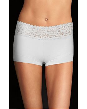 Maidenform 40859 Maidenform Cotton Dream Boyshort With Lace