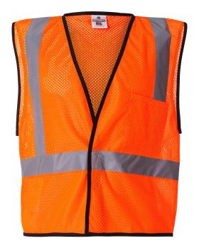 ML Kishigo 1193-1194 Economy One Pocket Mesh Vest