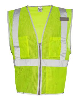 ML Kishigo 1507-1508 Brilliant Series Economy Vest
