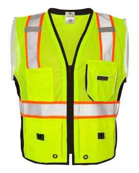 ML Kishigo 1513-1514 Black Series Heavy Duty Vest