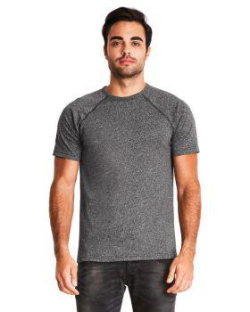 Next Level 2050 Men's Mock Twist Short-Sleeve Raglan T-Shirt