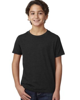 Next Level 3312 Youth CVC Crew 4.3 oz Cotton Polyester T-Shirt