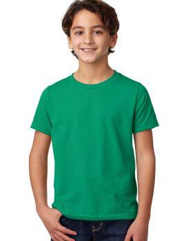 'Next Level 3312 Youth CVC Crew 4.3 oz Cotton Polyester T-Shirt'