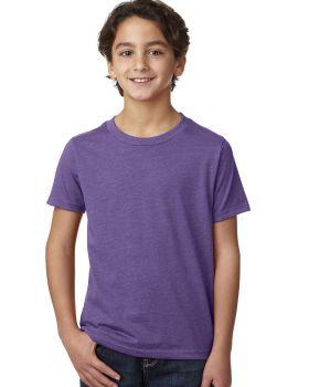 Next Level 3312 Youth CVC Crew 4.3 oz Cotton Polyester T-Shirt