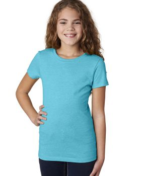 Next Level 3712 Girls Princess CVC Short Sleeve T-Shirt
