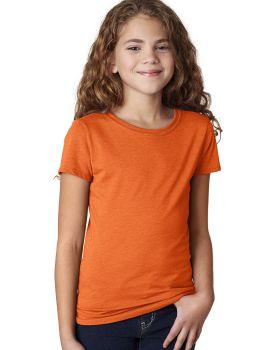 'Next Level 3712 Girls Princess CVC Short Sleeve T-Shirt'