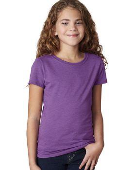 Next Level 3712 Girls Princess CVC Short Sleeve T-Shirt