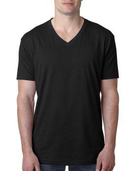 Next Level 6240 Fitted CVC V Neck 4.3 oz Cotton Polyester T-Shirt