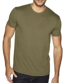 Next Level 6410 Men's Cotton Polyester Sueded Crewneck T-Shirt