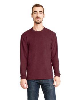 Next Level 6411 Unisex Sueded Long Sleeve Crewneck T-Shirt
