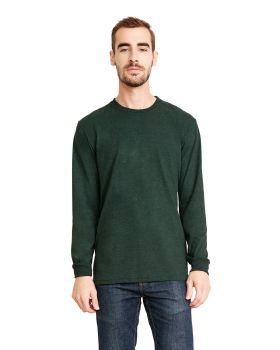 Next Level 6411 Unisex Sueded Long Sleeve Crewneck T-Shirt