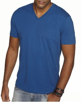 Next Level 6440 Men's Sueded V Neck T-Shirt