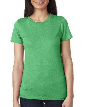 Next Level 6710 Ladies Rayon polyester Cotton Triblend Crewneck T-Shirt