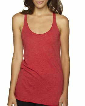 Next Level 6733 Ladies Triblend Racerback Tank Top