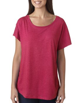 Next Level 6760 Ladies Triblend Dolman T-Shirt