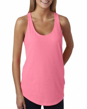 Next Level 6933 Ladies' French Terry Racerback Tank