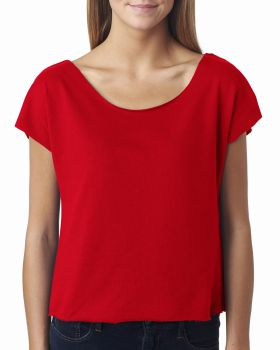 Next Level 6960 Women Terry Dolman Tee