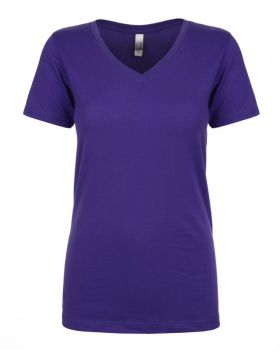 Next Level N1540 Ladies Ideal Polyester Cotton V Neck T-Shirt
