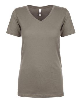 'Next Level N1540 Ladies Ideal Polyester Cotton V Neck T-Shirt'