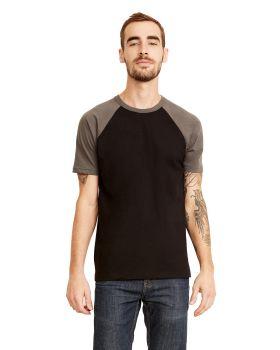 Next Level N3650 Unisex Raglan Short-Sleeve T-Shirt