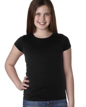 Next Level N3710 Youth Girls' Princess T-Shirt