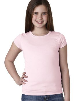 Next Level N3710 Cap Sleeve Girls Princess T-Shirt