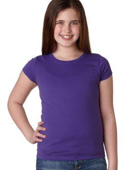 Next Level N3710 Cap Sleeve Girls Princess T-Shirt