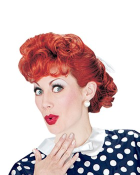 'Pony express XR19069 I Love Lucy Adult Wig'