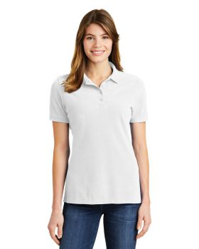 Port & Company LKP1500 Ladies Ring Spun Pique Polo