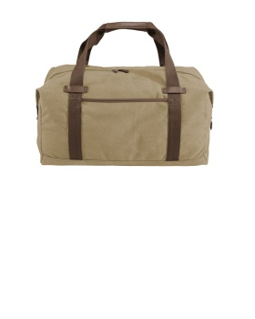 Port Authority BG803 Cotton Canvas Duffel