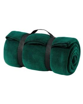 Port Authority BP10 Value Fleece Blanket with Strap
